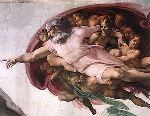 310px-Michelangelo,_Creation_of_Adam_04